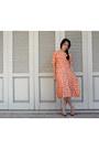 Carrot-orange-polkadot-top-carrot-orange-polkadot-skirt