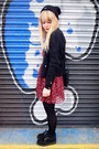 Black-creepers-underground-shoes-ruby-red-heart-print-dahlia-dress