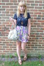 Next-t-shirt-river-island-skirt-mischa-barton-bag-matalan-shoes