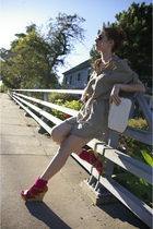 Gap dress - DOTS shoes - socks - vintage accessories