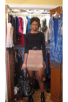 sweater - Forever21 skirt
