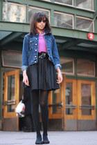 Lacoste jacket - Tommy Hilfiger jacket - Forever 21 skirt