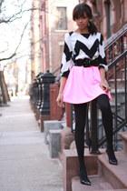 Tobi shirt - Tobi skirt - Target heels