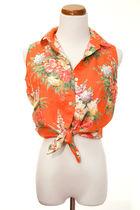 orange Ralph Lauren vest