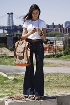 mayle bag - Charlotte Ronson shoes - Ditto denim jeans - Jcrew belt