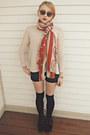 Red-velvet-dr-martens-boots-h-m-sweater-vintage-liz-claiborne-sunglasses