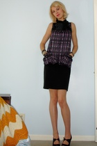Richard Chai for Target dress - The Limited skirt - payless shoes