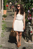 white Dex dress