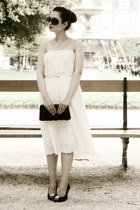 white Dear Faithful dress