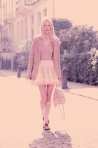American Apparel skirt - Lucette shoes - Lucette blazer - Rebecca Minkoff bag