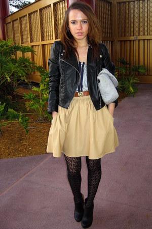 Zara skirt - H&M jacket
