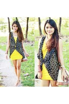 yellow polka WAGW dress