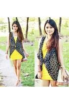 yellow polka WAGW dress