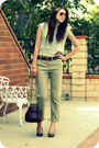 Beige-vintage-vest-beige-urban-outfitters-pants-beige-seychelles-shoes-bro