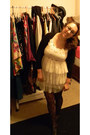 Cream-dress-black-heart-tights-black-cardigan-black-flats
