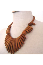 Burnt Orange Necklaces