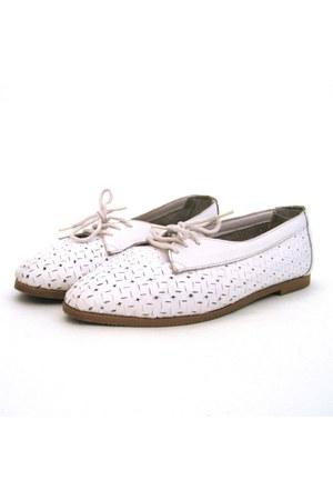 white Sentiments shoes