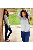 Bershka jeans - Choies shirt