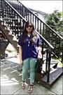 Black-shopper-tote-furla-bag-brown-ray-ban-sunglasses