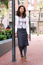Pink-jcrew-cardigan-gray-bcbg-skirt-beige-aldo-shoes-gray-h-m-tights-blu