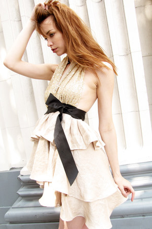 halter dress CGH dress