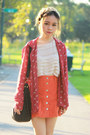 Carrot-orange-minkpink-skirt-brick-red-jeffrey-campbell-boots