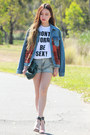 White-stylestalker-top-ruby-red-wool-denim-topshop-jacket-denim-romwe-shorts