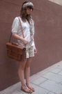 White-zara-t-shirt-beige-hm-shorts-brown-zara-shoes-brown-accessories-br