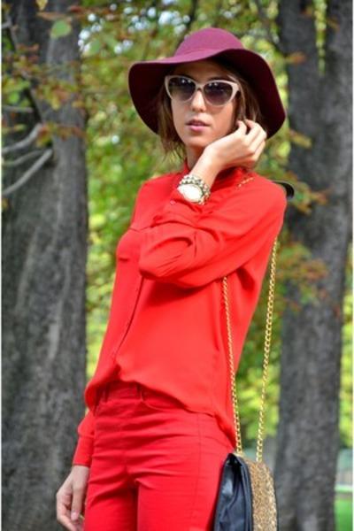 H&M hat - Primark shirt
