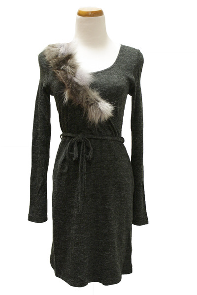 charcoal gray crossroads dress