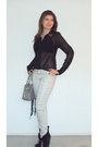 Black-boots-silver-jeans-silver-coach-scarf-heather-gray-coach-bag