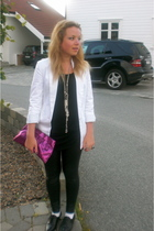 H&M purse - mystique boutique blazer - DIY necklace