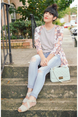 seafoam satchel Forever 21 purse - ripped jeans abercrombie and fitch jeans