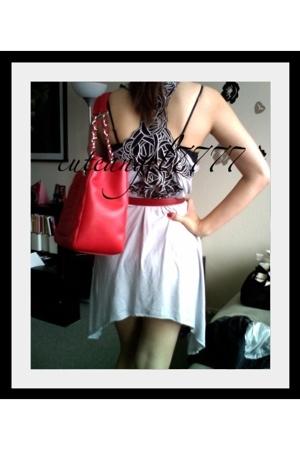 forever 21 dress - Hermes belt - Chanel purse - Chanel shoes - Christian Loubout