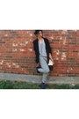 Thrited-blazer-sachel-thrifted-vintage-bag-f21-sunglasses-velvet-thrifted-