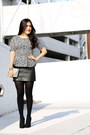 Vintage-bag-schutz-heels-zara-skirt-zara-top