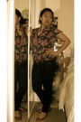 Forever21-blouse-black-forever21-jeans-pink-seychelles-shoes