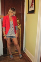Zara blazer - Forever21 top - Opening Ceremony shoes