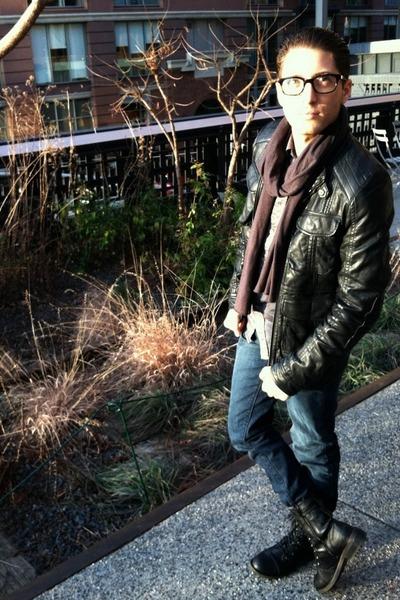 navy denim jeans Levis jeans - black Call it Spring boots
