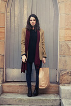 camel Amber and Thomas blazer - black i cant remember boots