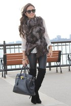 Mimi Boutique bag - Forever 21 shirt - furor moda sunglasses