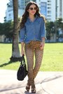 Light-brown-forever-21-shoes-brown-leopard-print-target-jeans