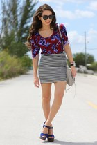 maroon StyleMint shirt - silver Rebecca Minkoff bag - black Furor sunglasses