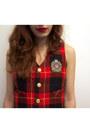 Brick-red-trashy-vintage-vest-black-skirt-brick-red-bass-rachel-antonoff-lo