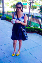 Betsey Johnson accessories - Target dress - tory burch shoes - Bebe purse - Bets