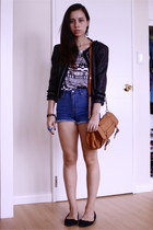 Forever 21 jacket - Forever 21 shirt - cotton on bag