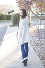 Black-ankle-tj-maxx-boots-dark-skinnies-express-jeans-topshop-sweater