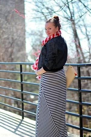 stripes calvin klein dress