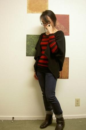 shirt - jacket - H&M jeans - boots - accessories