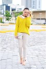 Yellow-knit-jumper-clothes-for-the-goddess-sweater